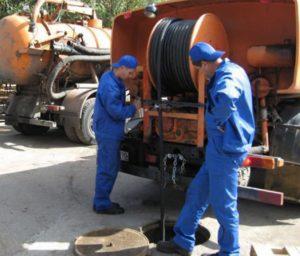 прочистка наружной канализации